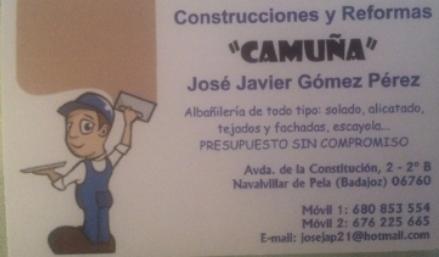 Construcciones Camuña